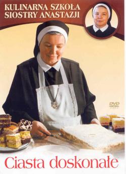 Ciasta doskonałe. Kulinarna szkoła siostry Anastazji. Płyta DVD