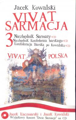 Vivat Sarmacja-3 książki i 4 płyty CD
