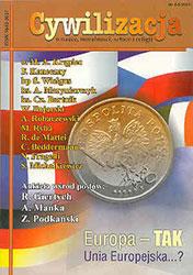 Cywilizacja nr 04/5 'Europa - Tak, Unia Europejska...?