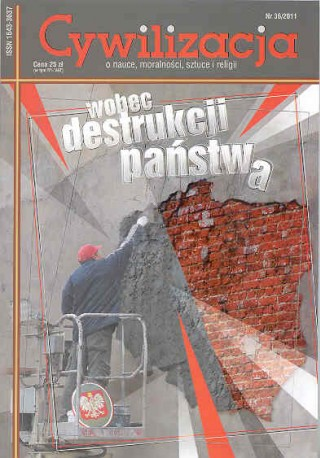 Cywilizacja nr 36 'Wobec destrukcji państwa'