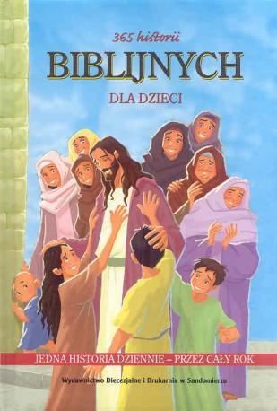 365 historii biblijnych dla dzieci,