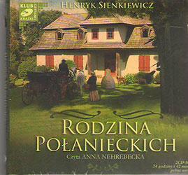 Rodzina Połanieckich. Książka do słuchania