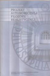 Projekt autonomii filozofii realistycznej