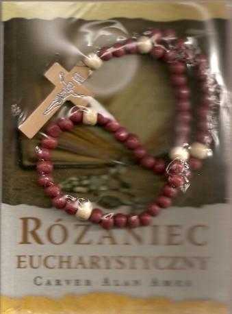 Różaniec Eucharystyczny. Książeczka + różaniec