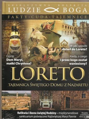 Loreto - Tajemnice świętego domu z Nazaretu. Książeczka + DVD