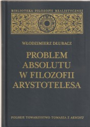 Problem Absolutu w filozofii Arystotelesa