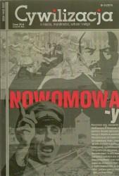 "Cywilizacja nr 57 ""Nowomowa -y"""