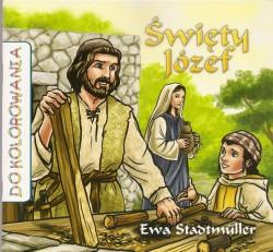 Święty Józef. Kolorowanka