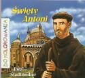 Święty Antoni. Kolorowanka