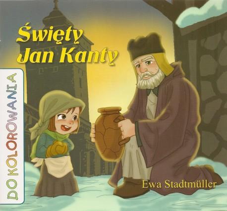 Święty Jan Kanty. Kolorowanka