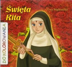 Święta Rita. Kolorowanka