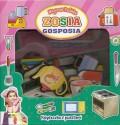 Zosia Gosposia - magiczne pudełka. Książeczka z puzzlami