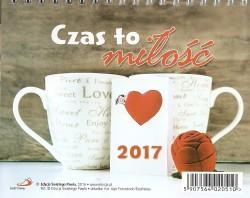 Czas na miłość. Kalendarz 2017