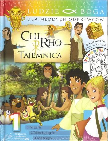 Chir-ho. Tajemnica 1. Książeczka wraz z płytą DVD