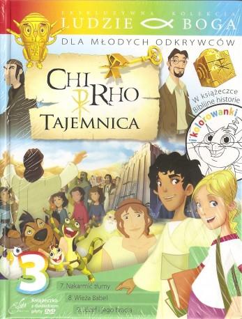 Chi-Rho. Tajemnica 3. Książeczka wraz z płytą DVD