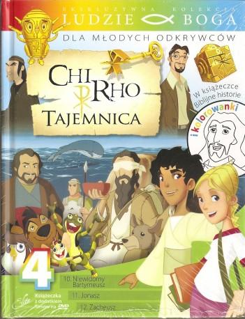 Chi-Rho. Tajemnica 4. Książeczka wraz z płytą DVD