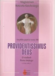 Providentissimus Deus. Encyklika papieża Leona XIII o Studiach Pisma Świętego