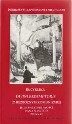 Divini Redemtoris encyklika papieża Piusa XI o bezbożnym komunizmie