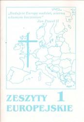 Zeszyty europejskie 1
