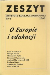 O Europie i edukacji