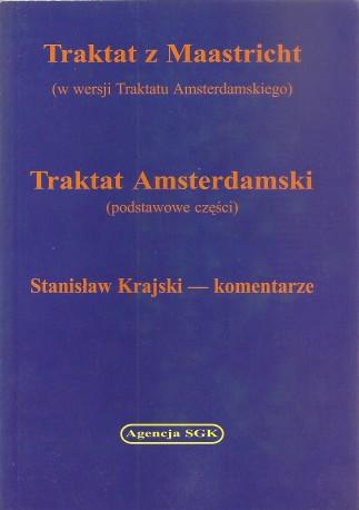 Traktat Z Maastricht, Traktat Amsterdamski