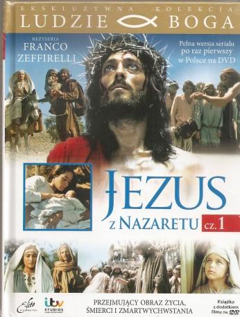 Jezus z Nazaretu cz.1-2. Książeczka wraz filmem
