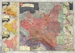 Mapa Historyczna II Rzeczypospolitej 1937r.