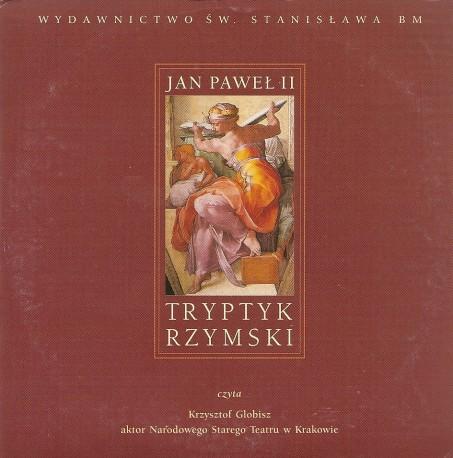 Tryptyk rzymski. Audiobook. Czyta Krzysztof Globisz