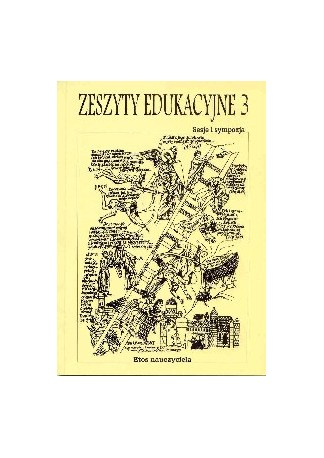 """""""Zeszyty Edukacyjne"""" nr 3"""
