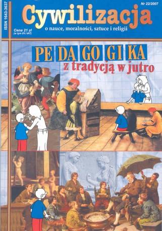 Cywilizacja nr 22 'Pedagogika - z tradycją w jutro'