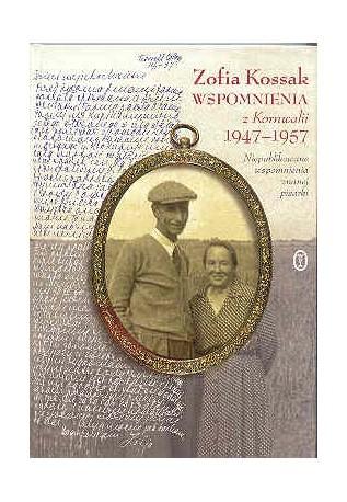 Wspomnienia z Kornwalii 1947 -1957. Niepublikowane wspomnienia znanej pisarki