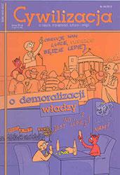 Cywilizacja nr 44 'Demoralizacja władzy'