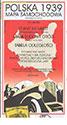 Polska 1939. Mapa samochodowa 11 250 000. Reedycja mapy wydanej w 1939 r.