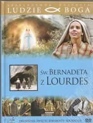Św. Bernadeta z Lourdes. Książeczka + DVD
