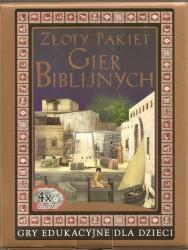 Złoty pakiet gier biblijnych. Gry edukacyjne dla dzieci