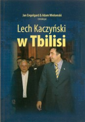 Lech Kaczyński w Tbilisi