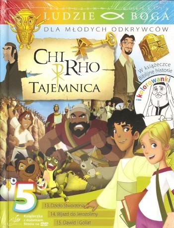 Chi-Rho. Tajemnica 5. Książeczka wraz z płytą DVD