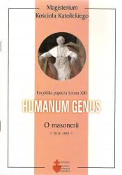 Humanum genus encyklika papieża Leona XIII o masonerii