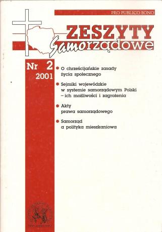 Zeszyty samorządowe nr 2