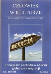 Człowiek w kulturze nr 26. Tożsamość Zachodu w obliczu globalnych migracji