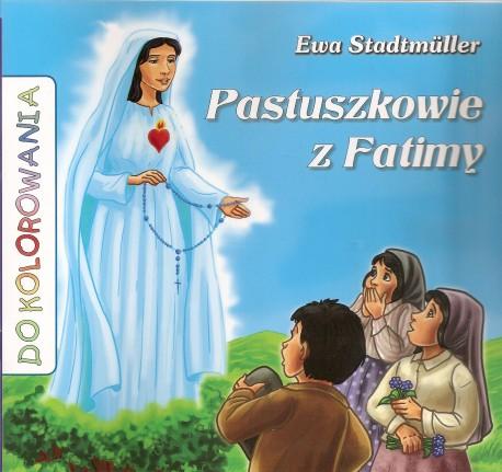 Pastuszkowie z Fatimy. Książeczka do kolorowania