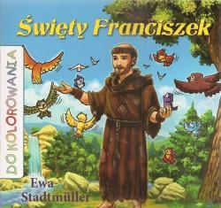 Święty Franciszek. Kolorowanka