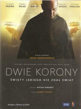 Dwie korony. Książeczka + film DVD