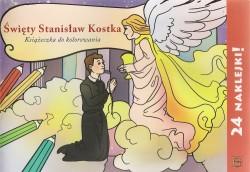 Święty Stanisław Kostka. Kolorowanka