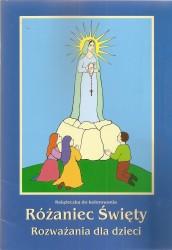 Różaniec Święty. Rozważania dla dzieci. Kolorowanka