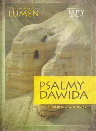 Psalmy Dawida. Książeczka z nutami oraz płyta CD
