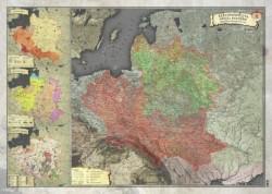 Mapa Historyczna I Rzeczypospolitej 1770r.