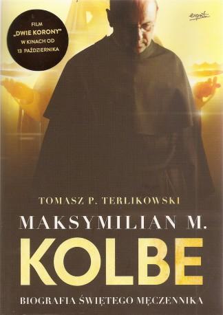Maksymilian M. Kolbe. Biografia świętego Męczennika. Okładka filmowa