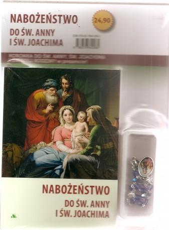 Nabożeństwo do św. Anny i św. Joachima. Modlitewnik z koronką