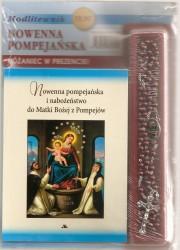Nowenna pompejańska i nabożeństwo do Matki Bożej z Pompejów. Książka wraz z różańcem